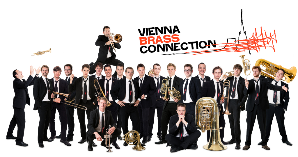 Gruppenbild Vienna Brass Connection